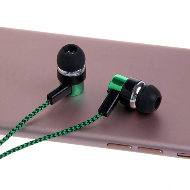 OOTDTY 3.5mm Stereo In-Ear Earphone Headset Earbuds For iPhone Samsung MP3/4