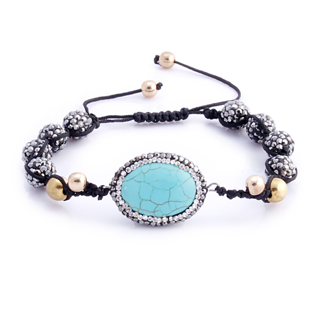 Jewelry & Accessories Berbeny2018 Trendy Black And Green Natural Stone Bead Bracelet Bangles Jewelry Gift Charms Green Black Lava Stone Beads Bracelet Sophisticated Technologies Bracelets & Bangles