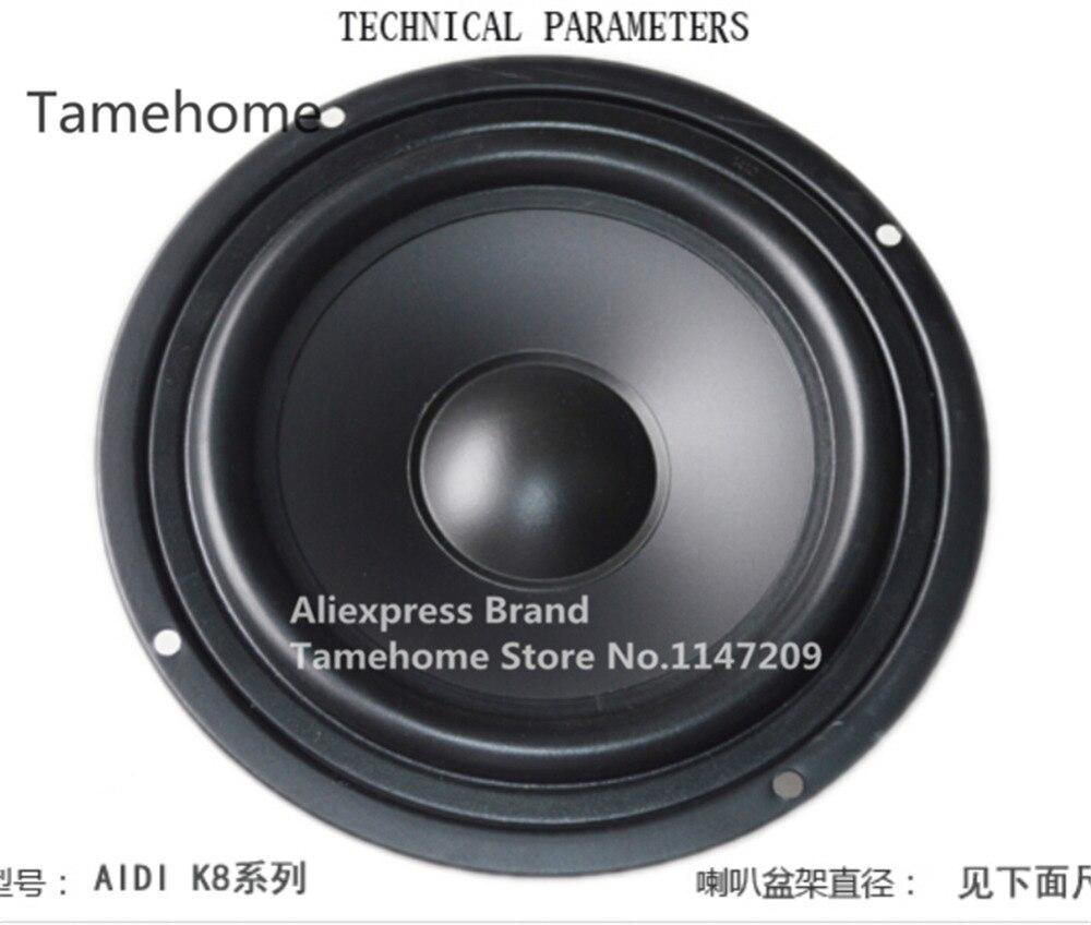 Tamehome 1 Pcs 8 Inch Car Speaker 8 Inch Woofer Home Bookshelf