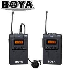 mikrofony bezprzewodowa UHF DSLR