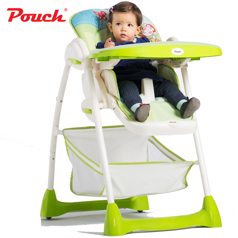 Pouch baby dining chair multifunctional folding child dining chair dining table chair adjustable baby dining chair все цены