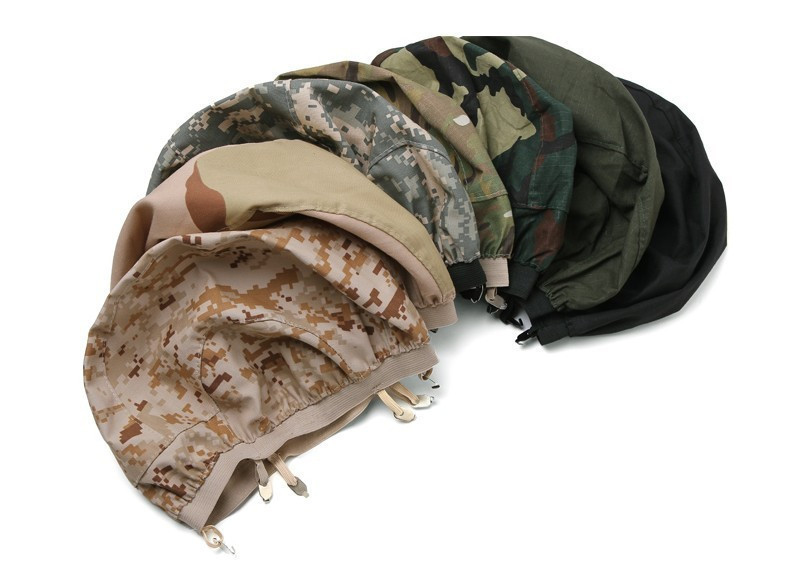 M88 Тактическая SWAT PASGT Детская безопасность Пейнтбол шлем Ткань Обложка Тактический Airsoft M88 Шлем Крышка ткань черный