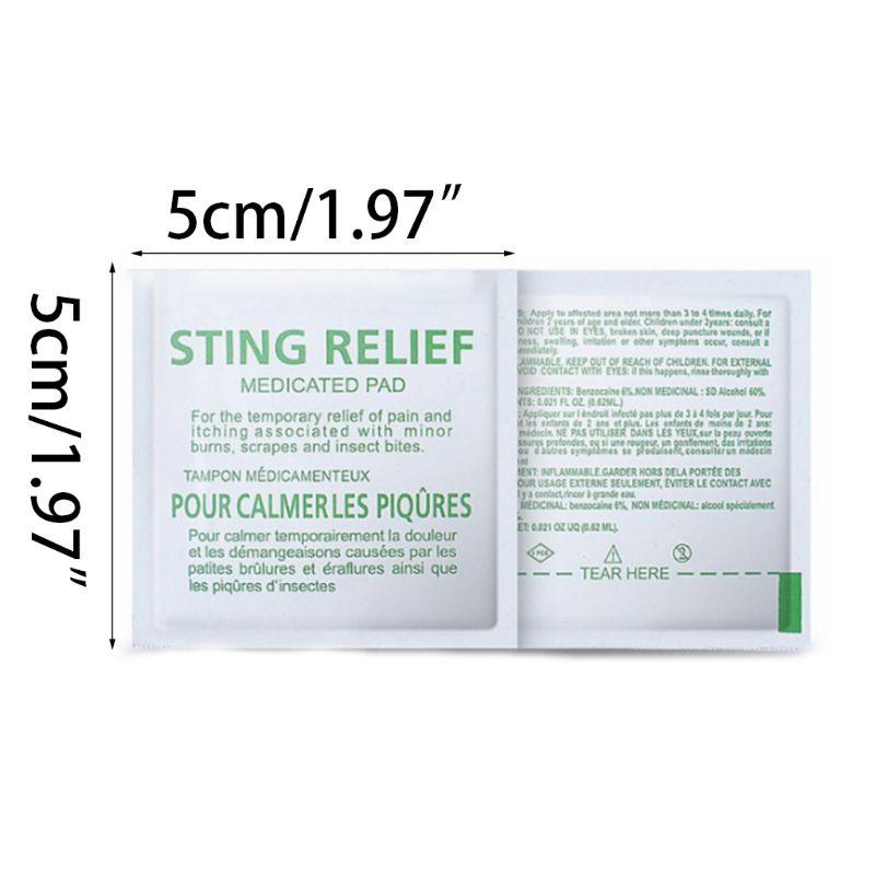 ff482799c45436 Kopen Goedkoop 100 stks set Anti Mug Doekjes Pad Nat Ongediertebestrijding  Sting Relief Jeuk Muggen Repeller Kind Verpleging Pijn Verlichten Tissue  T77 ...