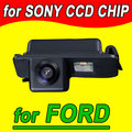 Para a sony ccd retrovisor do carro de volta câmera reversa estacionamento para ford mondeo foco fiesta facelift kuga s-max ntsc pal (opcional)