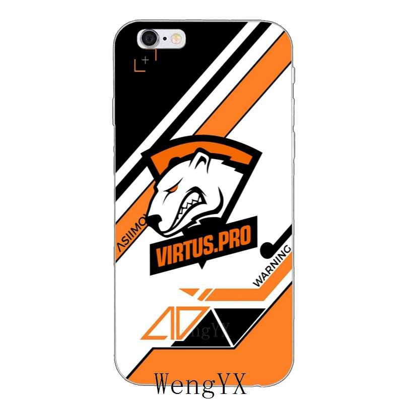 Классный дизайн virtus pro логотип мягкий Чехол для телефона для Huawei Honor 4C 5c 5x 6x V10 Y5 Y6 Y7 II Коврики, 8, 9, 10, P8 P9 P10 Lite plus 2017