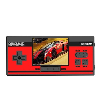 Mini Pocket Handheld Game Console Retro Portable Video Game 3.0 inch Screen Built in 348 Classic Games for Child