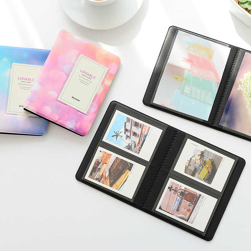 64 Pockets Polaroid Photo Album Mini Instant Picture Album Case Storage For Mini Film Korea Insert Album Scrapbook