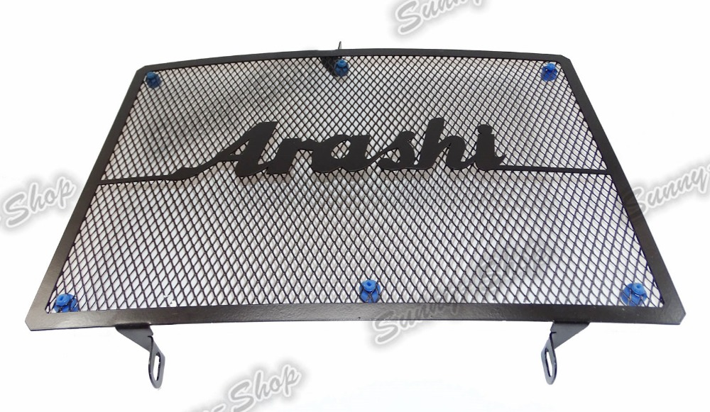 Motorcycle Parts Radiator Grille Protective Cover Grill Guard Protector For 2007 2008 2009 2010 2011 2012 KAWASAKI Z750 arashi radiator grille protective cover grill guard protector for honda cbr600rr cbr 600 rr 2007 2008 2009 2010 2011 2012