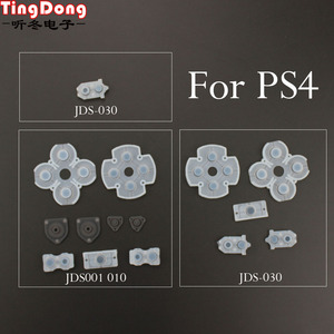 Image 1 - تنغدونغ 100 مجموعة لسوني بلاي ستيشن 4 PS4 تحكم مطاط سيليكون موصل منصات ل Dualshock 4 أزرار إصلاح استبدال