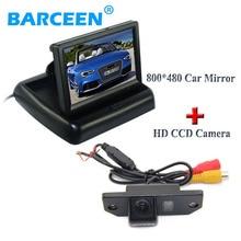 """Monitor de aparcamiento traer 4.3 """"pantalla lcd de tipo plegable con original del coche de visión trasera para ford-focus (3C)/Mondeo C-max"""