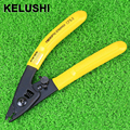KELUSHI CFS-2 Fiber Optic Stripper tool Double-hole Stripping Pliers for Miller