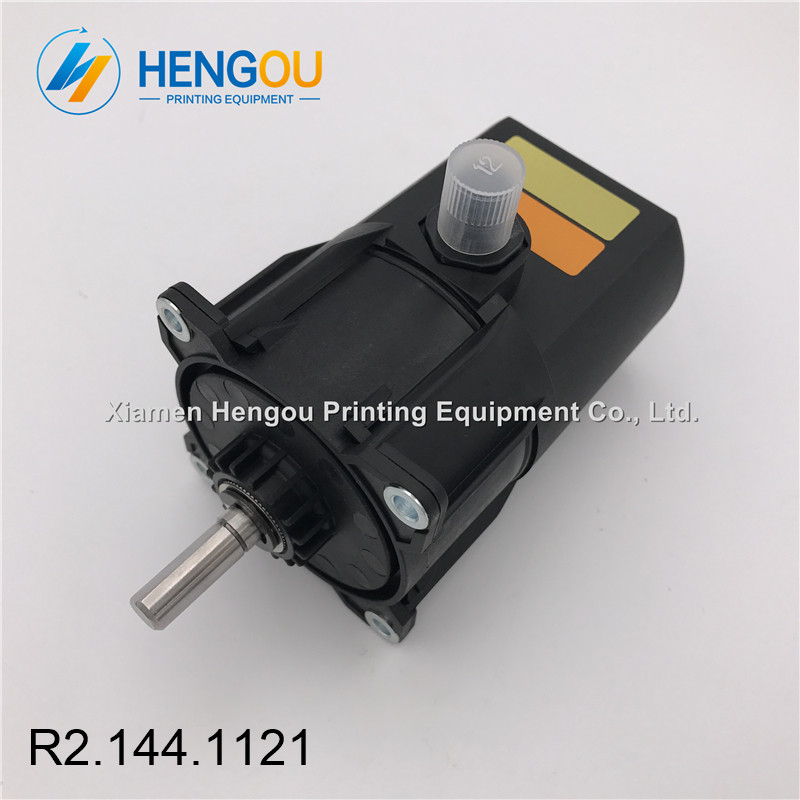 4 Pieces New Gear Motor for SM74 SM52 PM52 Machine, Heidelberg Motor R2.144.1121 2 pieces r2 144 1121 heidelberg machine gear motor compatible new