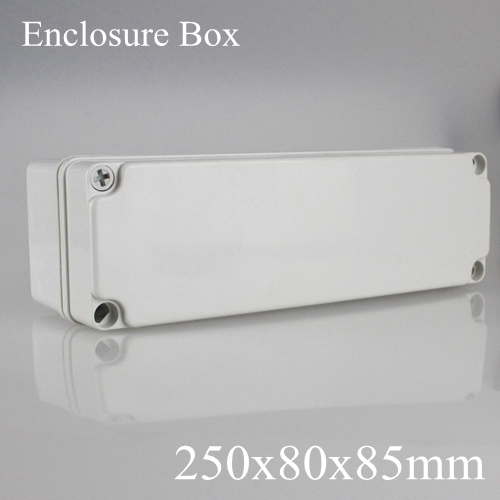 250 80 85MM IP67 New ABS electronic enclosure box Distribution control network cabinet switch junction outlet