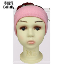 48cm Head Circumference Plastic Children Mannequin Head For Wig Hat Sunglass Jewelry Display Child Head Mannequin Head Model(China)