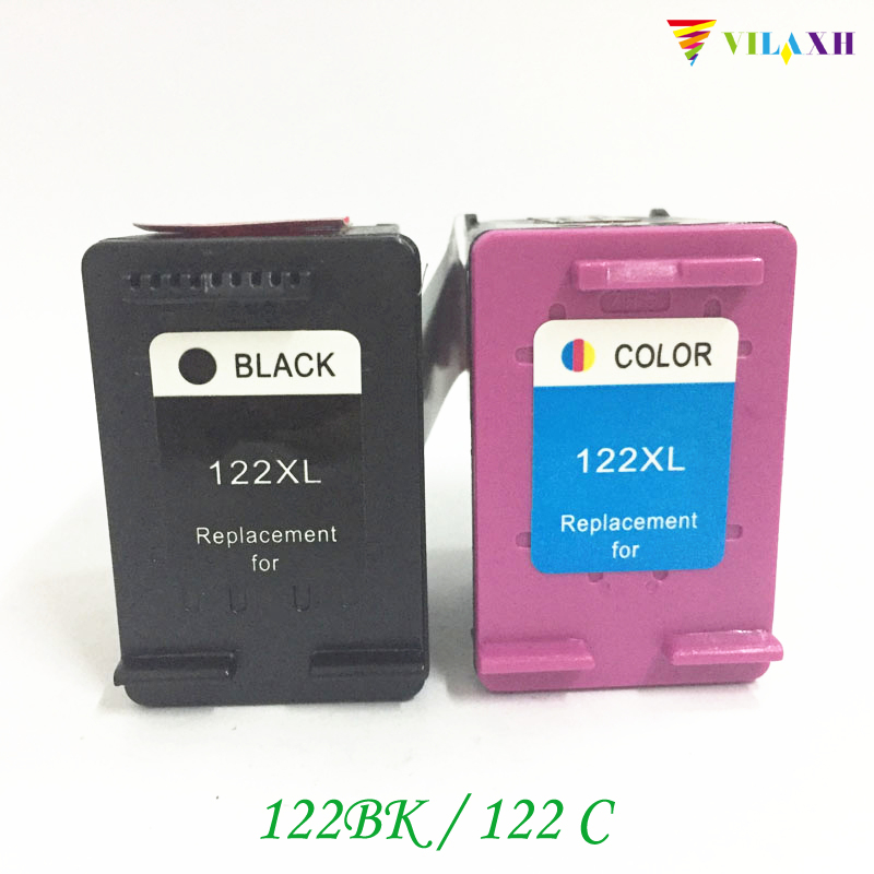 vilaxh 122 Reemplazo del cartucho de tinta compatible para HP 122 x - Electrónica de oficina - foto 1