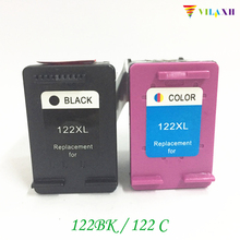 цена на  Compatible Ink cartridge for HP 122 XL 122xl Black and Tri-Color For HP Deskjet 1000 1050 2000 2050 2050s 3000 3050A 3052A