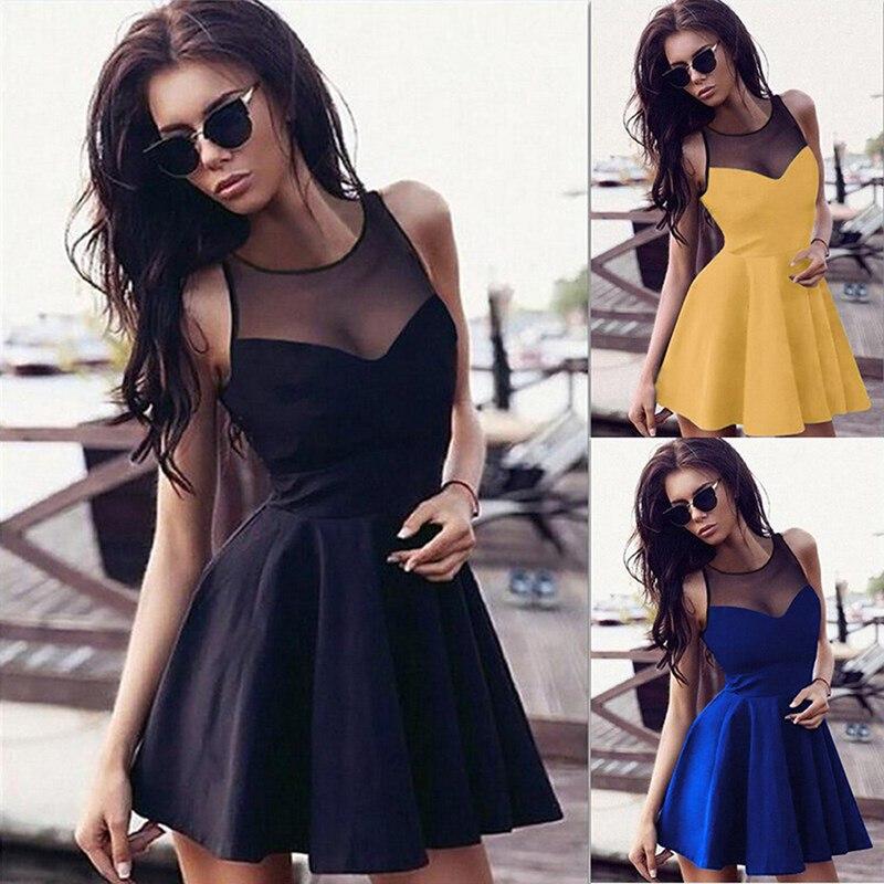 2301d4ff29b7 best top 10 2 15 new casual women mini dress patchwork brands and ...