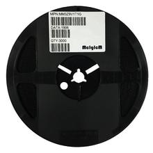 MCIGICM MM3Z9V1T1G Zener Diode 9.1V 300mW Surface Mount SOD-323 MM3Z9V1 200pcs bzt52c3v0s sod 323 3 v mark w2 stabilivolt