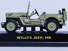 WILLYS JEEP MB UNITED STATES 1/43 Greenlight Diecast Car Model Limited