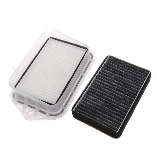 Hot High Quality New 2 Pcs 2 Hole Auto Car Cabin Filter For Vw Sagitar Passat Magotan Tiguan Touran Audi
