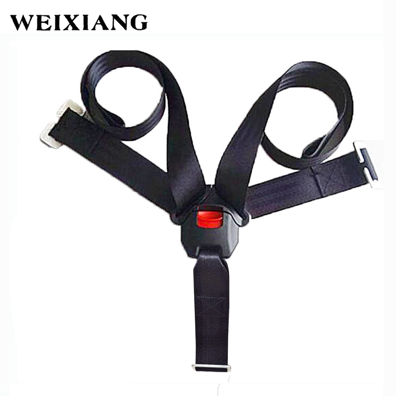 5 Points Baby Car Seat Safety Harness Child Seats Belts Fixaction Belt For Children's Car Seats Kids Seatbelts Clip Lock