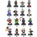 DC comic Злодея супер героев фильма Suicide Squad строительный блок Джокер Харли Квинн Deadshot Женщина-Кошка рисунок legoe игрушки
