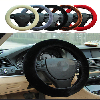 Non-slip Car Styling Steering Wheel Cover For BMW E46 E39 E90 E60 E36 F30 F10 E34 X5 E53 E30 F20 E92 E87 M3 M4 M5 X5 X6 image