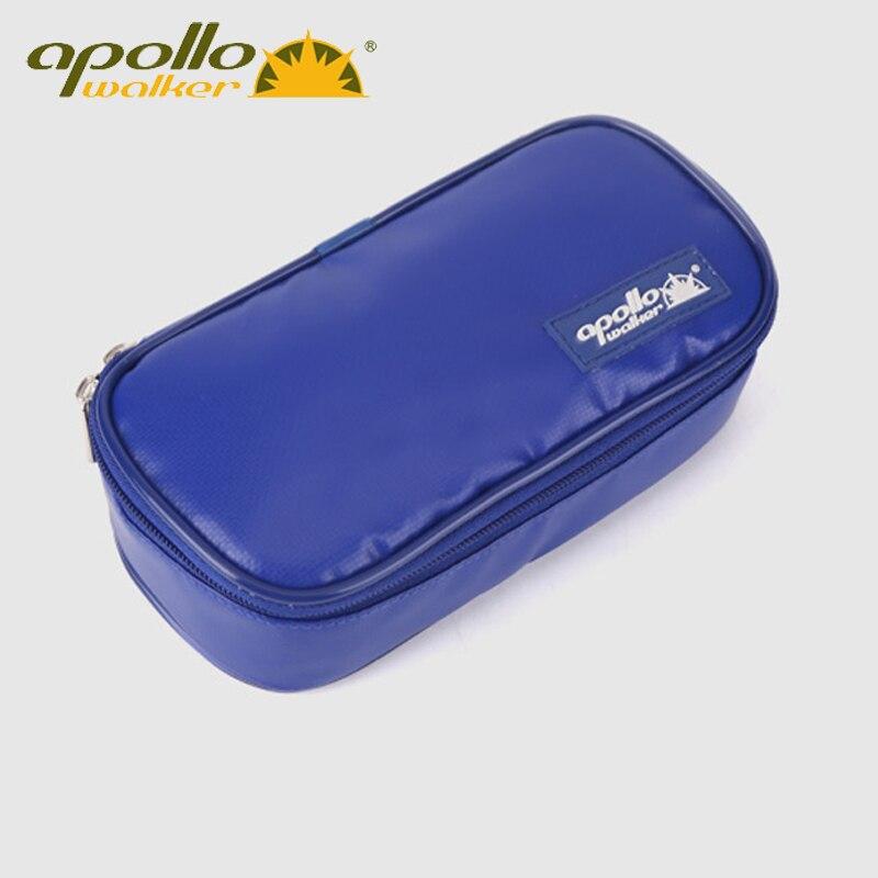 2016 Nouveau Apollo Insuline Portable Cooler Sac Insuline Diabétique Voyage Cas Taille: 20*9*5 tard-modèle PU Tissu En Aluminium Feuille sac de glace