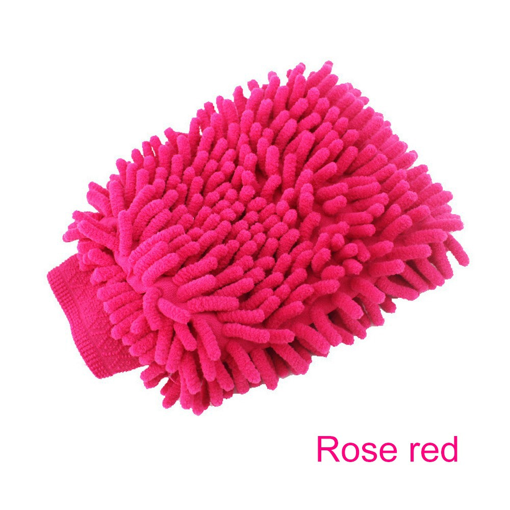 Image 3 - Car Washing Glove Car Cleaning Care Detailing Tools Sponge Hand Towel Coral Chenille Soft Vehicle Car Accessories-in Sponges, Cloths & Brushes from Automobiles & Motorcycles