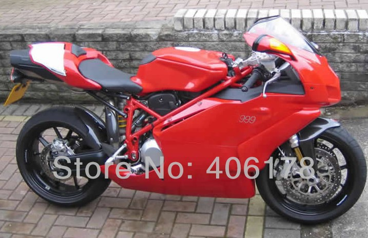 Hot Sales,Customized 999 749 05-06 ABS kit For Ducati 999/749 2005-2006 Red Motorcycle Fairings (Injection molding)