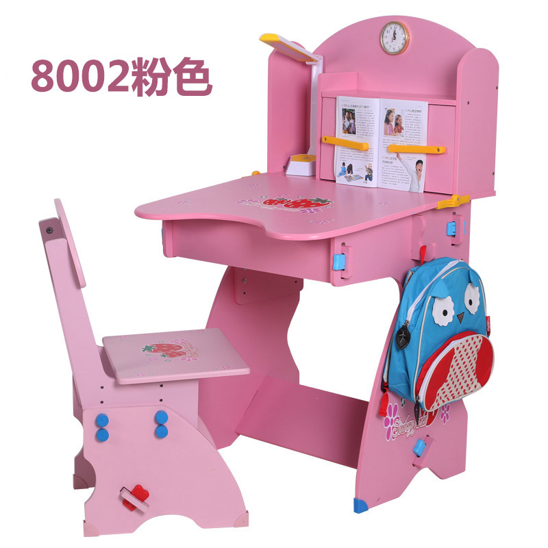 Factory direct wholesale home-correct posture can lift anti-myopia anti hump environmental tasteless desk student desk Children