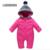 Siamese roupas escalada no outono e inverno do bebê 2016 novas crianças inverno grosso longo-collant de mangas compridas roupas Romper do bebê