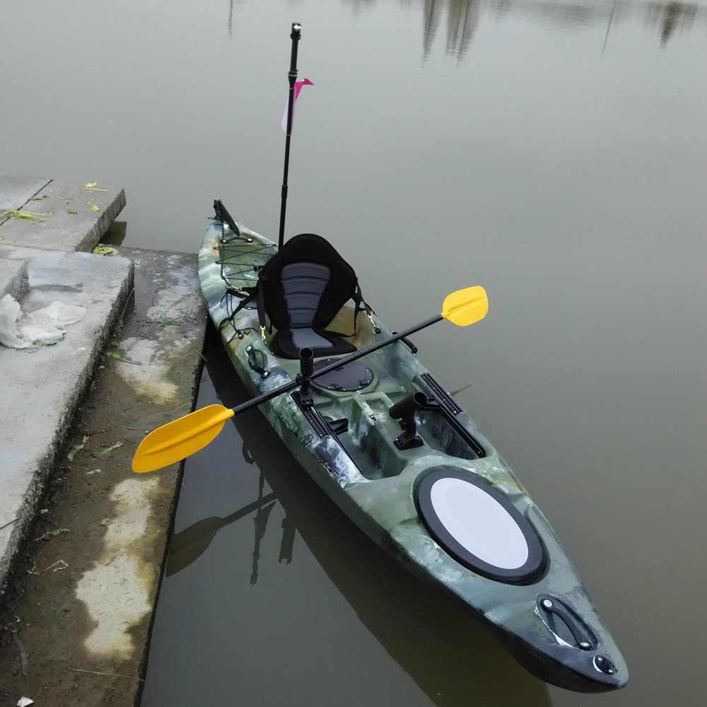 デラックスパッド入りカヤック漕ぎボートシート釣りカヌーカヤックの座席背もたれクッションソフトと滑り止めパッド入りベース高背もたれ