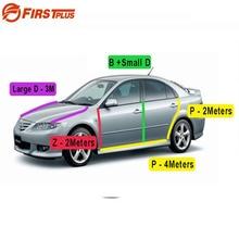 For Mazda 6 Rubber Seal Straps Front Rear Doors Bonnet Anti Noise Dust Sealing Strips Trim B D P Z Type Sealant