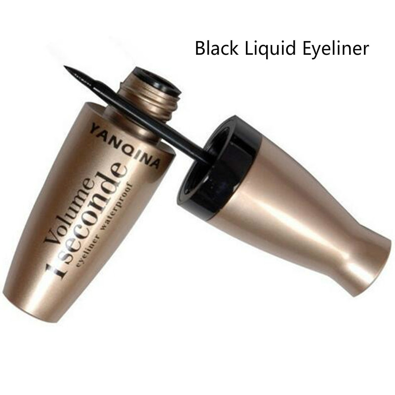 1pc Black Brown Liquid Eyeliner Pencil Soft Smooth Hard Head Waterproof Long Lasting Quick Drying Eye Liner Pen