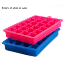 Квадратная силиконовая форма для льда, поднос для Фруктового мороженого для вина, кухни, бара, аксессуары для питья