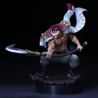 One Piece Anime Action Figure WHITEBEARD Pirates Edward Newgate PVC SCultures the TAG Team Collectible ModelToys Figures