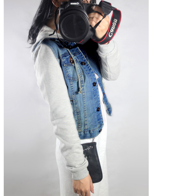 97c59db7b9d Women Coat Slim Cotton Patchwork Long Sleeve Denim Jacket Lady Vintage Jeans  Jacket Coat Plus Size XXXL 12-in Basic Jackets from Women s Clothing on ...