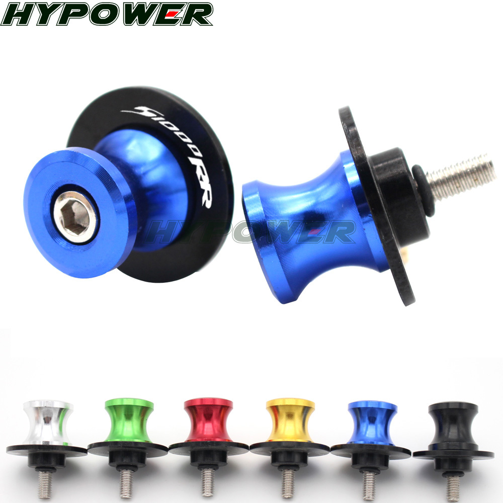 CNC Motorcycle <font><b>Accessories</b></font> Motorbike Stand Screws Swingarm Spools Slider For <font><b>BMW</b></font> F800R S1000R S1000RR HP4 <font><b>S</b></font> <font><b>1000</b></font> <font><b>RR</b></font> S1000 R image