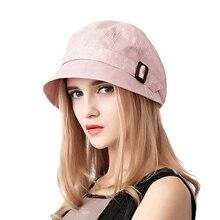 FS de algodón de moda sombrero de Sol para mujeres verano plegable al aire  libre playa sombreros azul Rosa gris oscuro de ala an. aad3ffec882