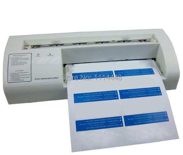 Brand New 90x54mm A4 Size Business Name Card Paper Cutter Slitter Cutting Machine manual paper processing card cutter business card cutter customized cutting size round corner