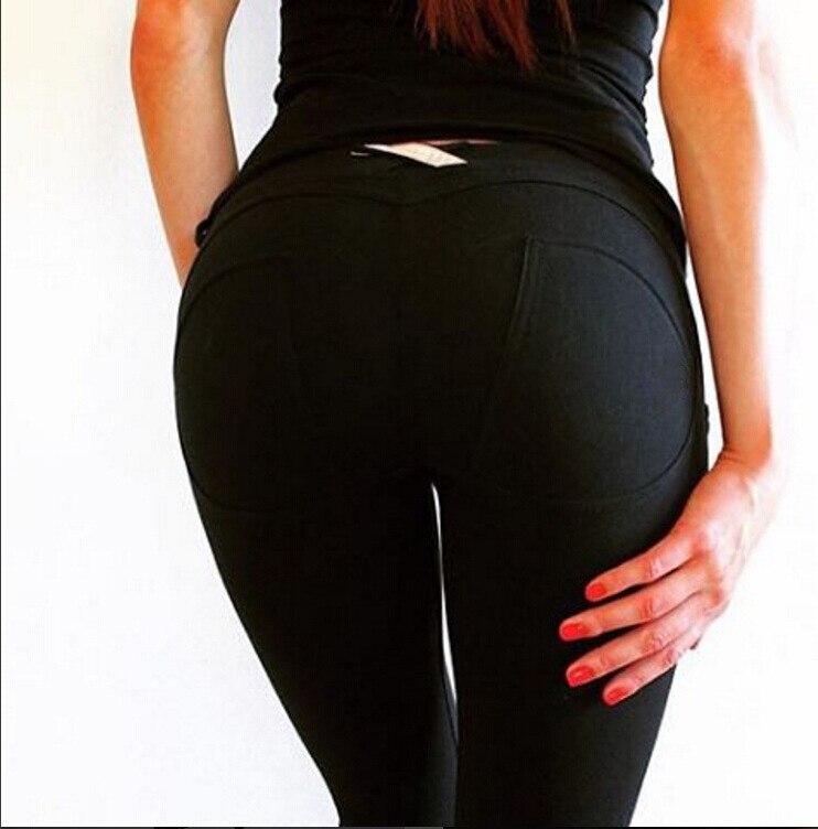 Cool Fashion Ladyu0026#39;s Tights Sports Push Up Elastic Sport Pants Women Fitness Women Sport Trousers ...