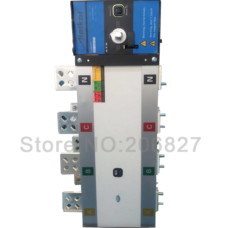 1250A Three phase 4P genset automatic transfer switch (ATS  1250A) бусы авантюрин зеленый 45 см