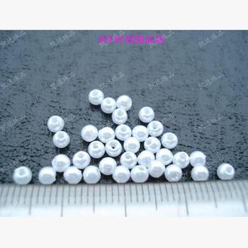 Darmowa wysyłka 3mm 400 sztuk 4 kolory ABS sztuczna perła okrągłe plastikowe koraliki dokonywanie biżuteria diy koraliki biżuteria ręcznie robiony naszyjnik tanie i dobre opinie zawieszki moda FZZYZ-3-5 Okrągły kształt Z tworzywa sztucznego NoEnName_Null
