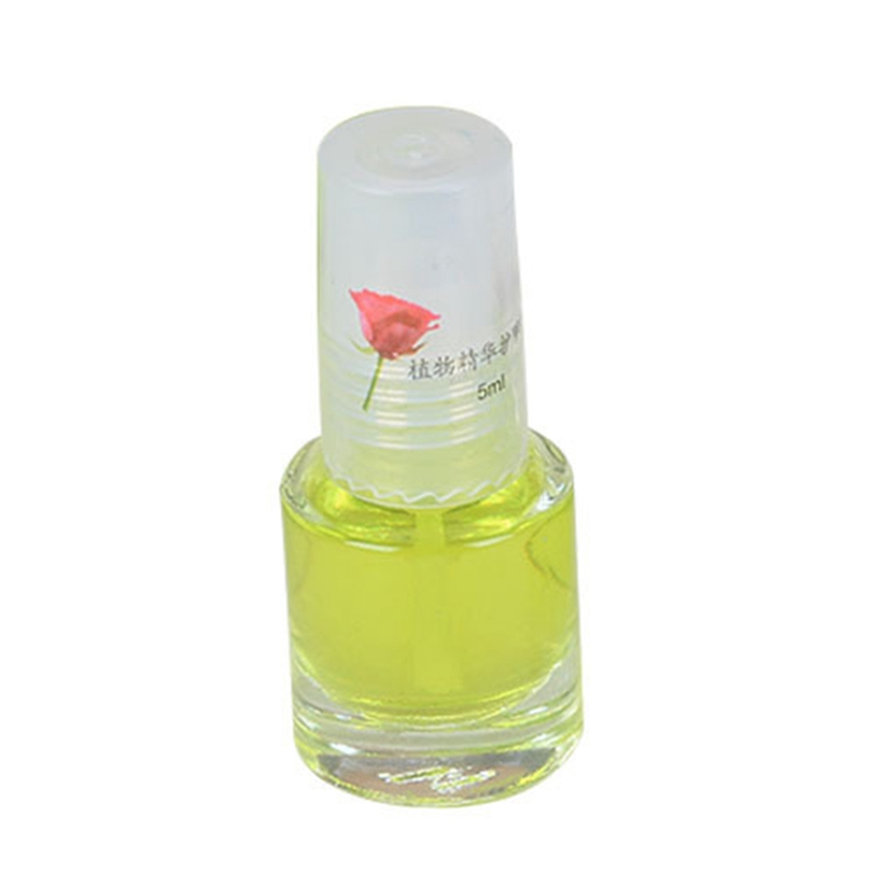 1pc DIY Nail Art Decorations Health Transparent Top Coat Clear 5ml Enhance Glitter Nail Polish Nail Art Tips Polish