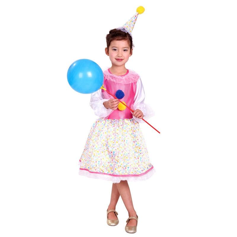 856bf688c M-XL الأطفال هالوين ازياء الفتيات السيرك المهرج تأثيري الاطفال لعب دور مهرج  مهرج أداء المرحلة الهذيان حزب اللباس