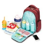 Mode baby windel Tasche Reisetasche Mit Großer Kapazität Rucksack Frauen Kinderwagen Mamabeutel Polyester Pflege Tasche Push Warenkorb