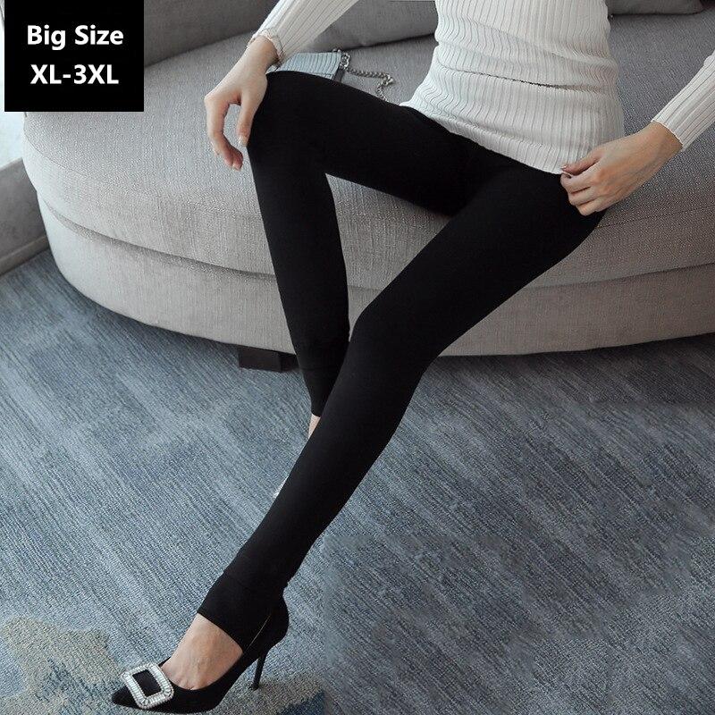 Winter Leggings Women Warm Cotton Pants Large Size XL 5XL ...