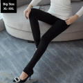 Winter Leggings Women Warm Cotton Pants Large Size XL-5XL High Quality High Elasticity 2016 New Femal Thick Leggings Black