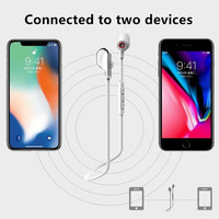 REMAX Bluetooth Sports Neckband earphones with Magnetic Wireless Fone De Ouvido with HD Microphone music for iphone 5s 6s xiaomi 3